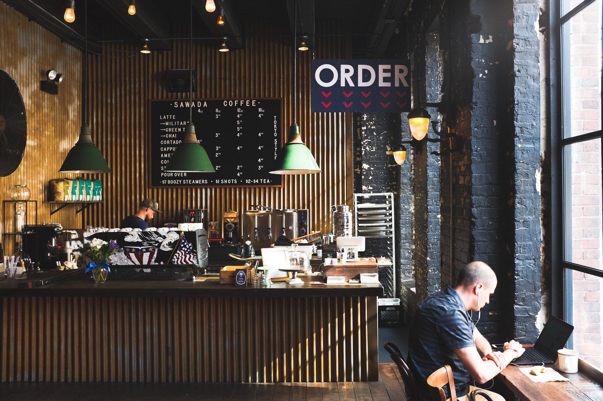 Sawada coffee shop in Chicago's West Loop neighborhood
