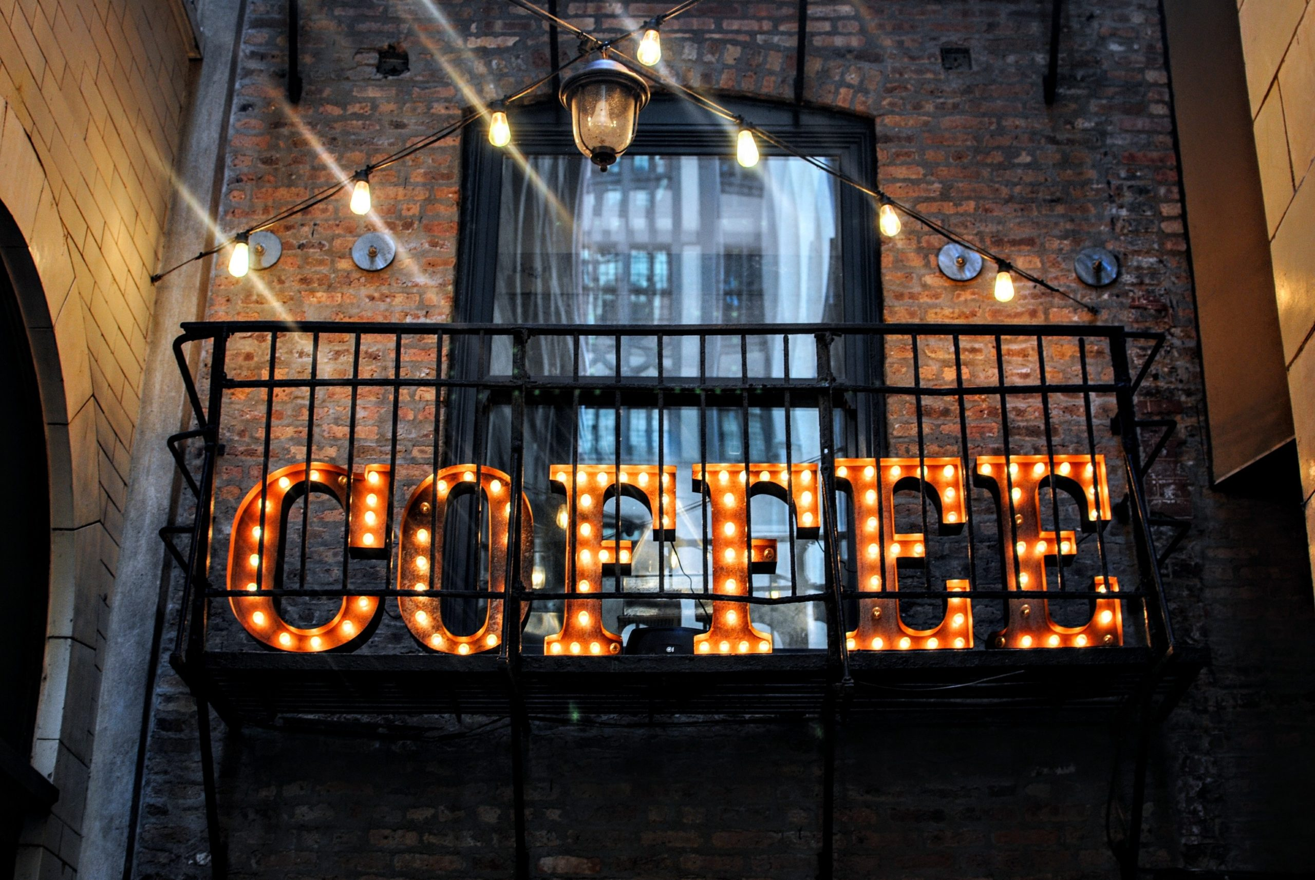 Chicago coffee sign