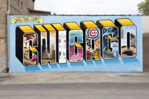 Logan Square mural Courtesy of Greetings Tour