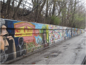 Photo courtesy of Mile of Murals