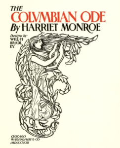 Cover of The Columbian Ode