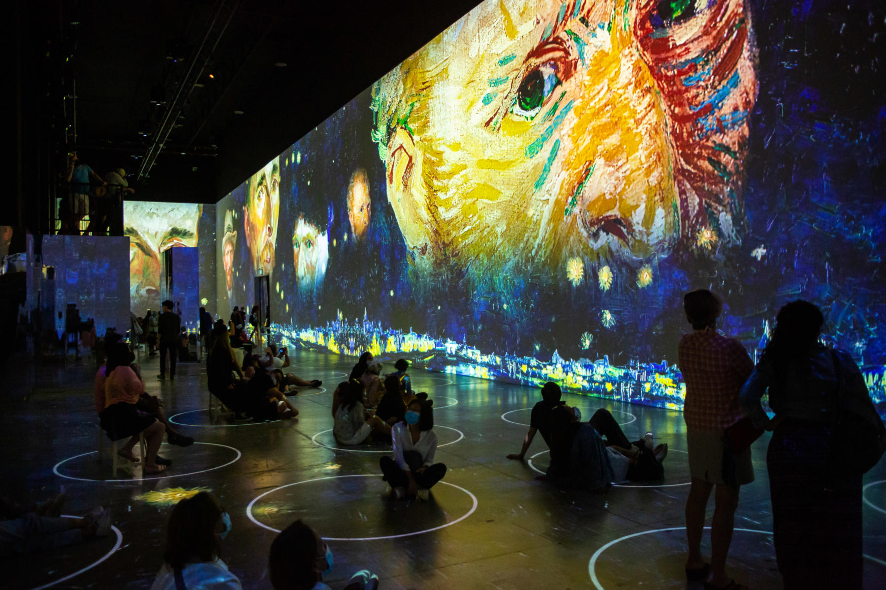 Photos from the Van Gogh Immersive Experience museum