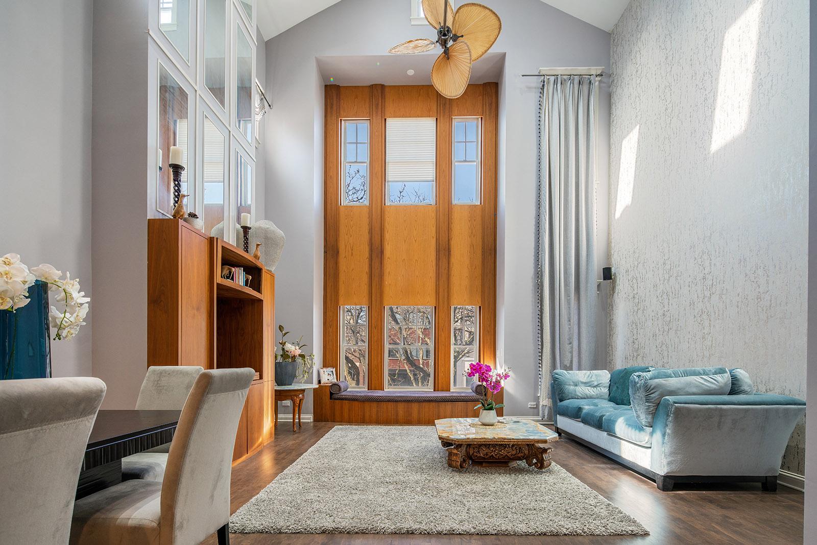 An organized Chicago home