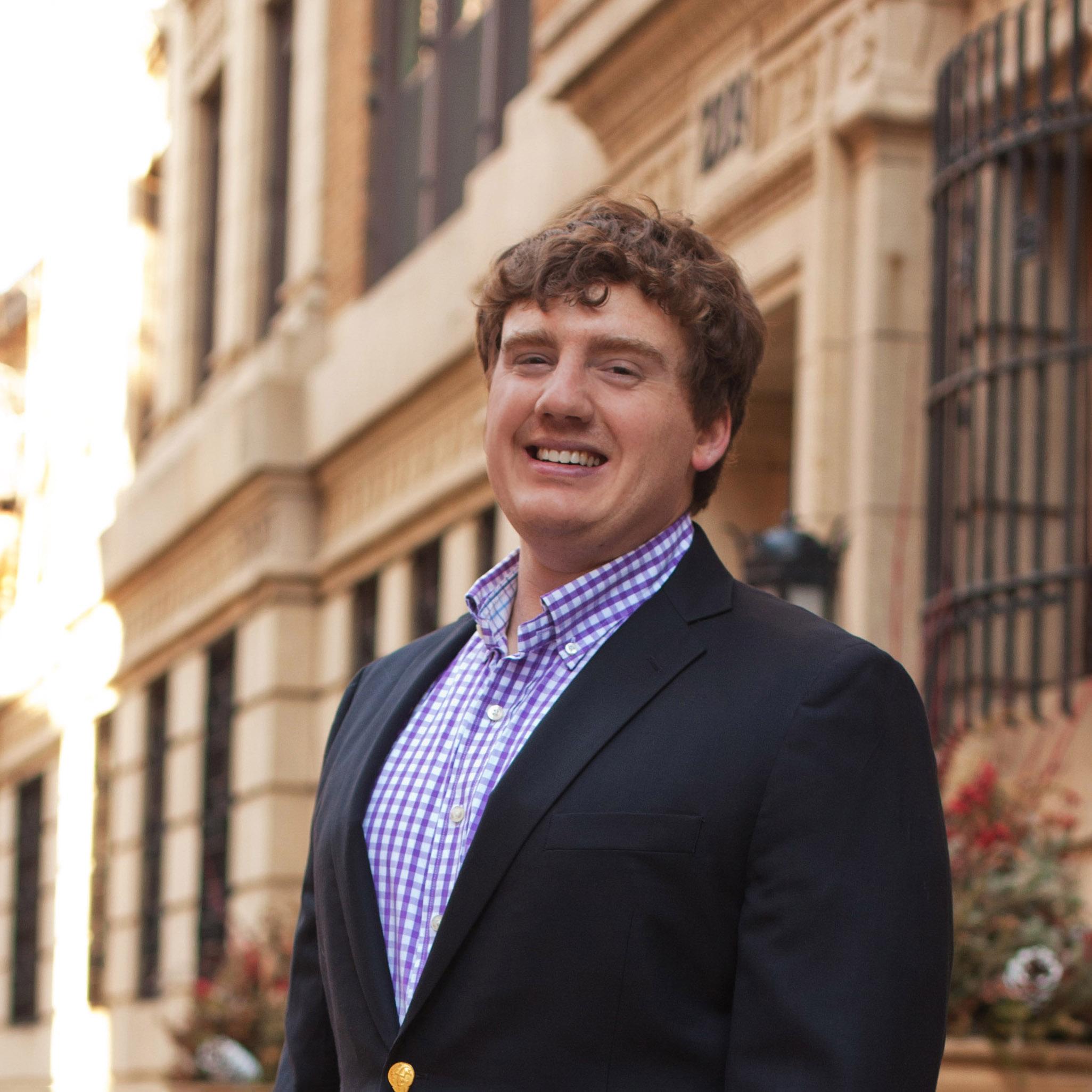 Sam Stewart headshot MG Group Chicago real estate
