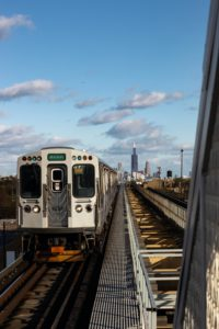 Photo of Chicago El Train