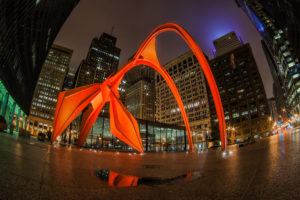 The Flamingo sits at 50 W Adams St.in downtown Chicago.